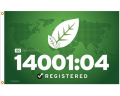 ISO 14001:2004 Flags & Banners