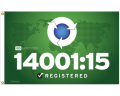 ISO 14001:15 Environmental Flag