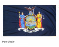 New York Sleeve Flag