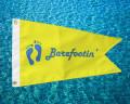 Barefootin' Custom Boat Flag