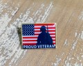 Proud Veteran Lapel Pin