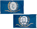 1st Regimental Flag of the 3rd GVI - Front