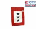 Service Star - 3 Blue Stars Garden Flag