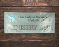 Church Vinyl Banner