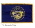 Nebraska Indoor Flag Fringe