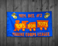 Custom Marine Corps League Toys for Tots