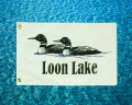 Loon Lake Boat Flag