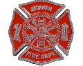Fireman Aluminum Grave Marker