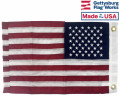 Back of American Boat Flag