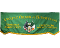 Applique Marching Banner