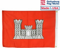 Back of Army Engineer Flag