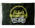 Bikes and Burgers Motorcycle Flag