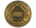 Coast Guard Brass Medallion