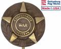 Confederate Veteran Bronze Grave Marker