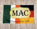 custom initial heritage flag