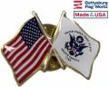 Coast Guard Flag Lapel Pin
