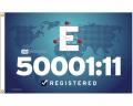 ISO 50001:11 Blue Flag