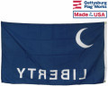 Back of Fort Moultrie Flag (Liberty on Bottom)