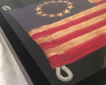 Framed Betsy Ross Flag Close Up