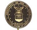 Air Force Bronze Grave Marker (Premium)
