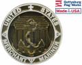 Merchant Marine Aluminum Grave Marker