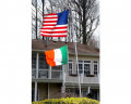 Ireland Flag Flying