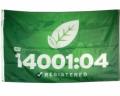 ISO 14001:2004 Flag