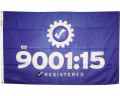 ISO 9001:15 Quality Flag Photo
