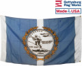 Back Korean War Veterans Flag