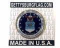 Air Force Seal Lapel Pin on Card