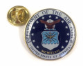 Air Force Seal Lapel Pin with Clutch