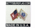 Army Flag Lapel Pin Card