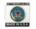 Coast Guard Seal Lapel Pin Card