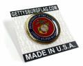 Marine Corps Seal Lapel Pin Card