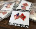 Marine Corps Flag Lapel Pins