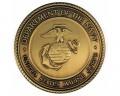 Marine Corps Brass Medallion