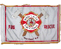 Menlo Park Fire District Marching Flag