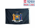 New York State Outdoor Flag-New Seal