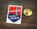 "Limited Edition ""Vintage"" Pearl Harbor Lapel Pin"