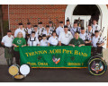 Trenton AOH Pipe Band custom applique banner