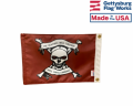 Red Beatings Pirate Flag