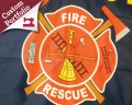 Custom Fire Company Flag Portfolio