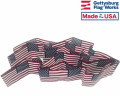 Roll of American flags