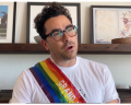 Rainbow Pride Sash Grand Marshal 2020