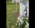 Korean War Bronze Grave Marker