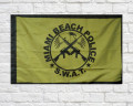 Miami Beach SWAT Flag