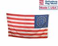 34 Star Oval Flag (Gold Stars) - 3x5'