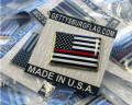 Thin Red Line Lapel Pins