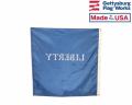 Liberty flag back