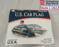 American Car Window Flag 4